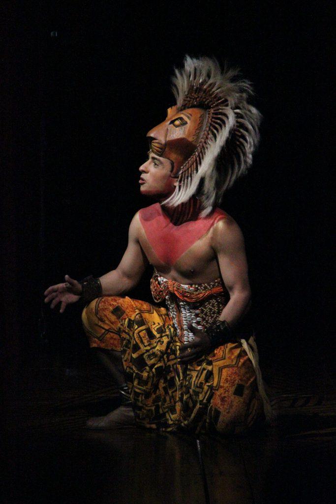 Jonathan Vroege Simba Lion King 3